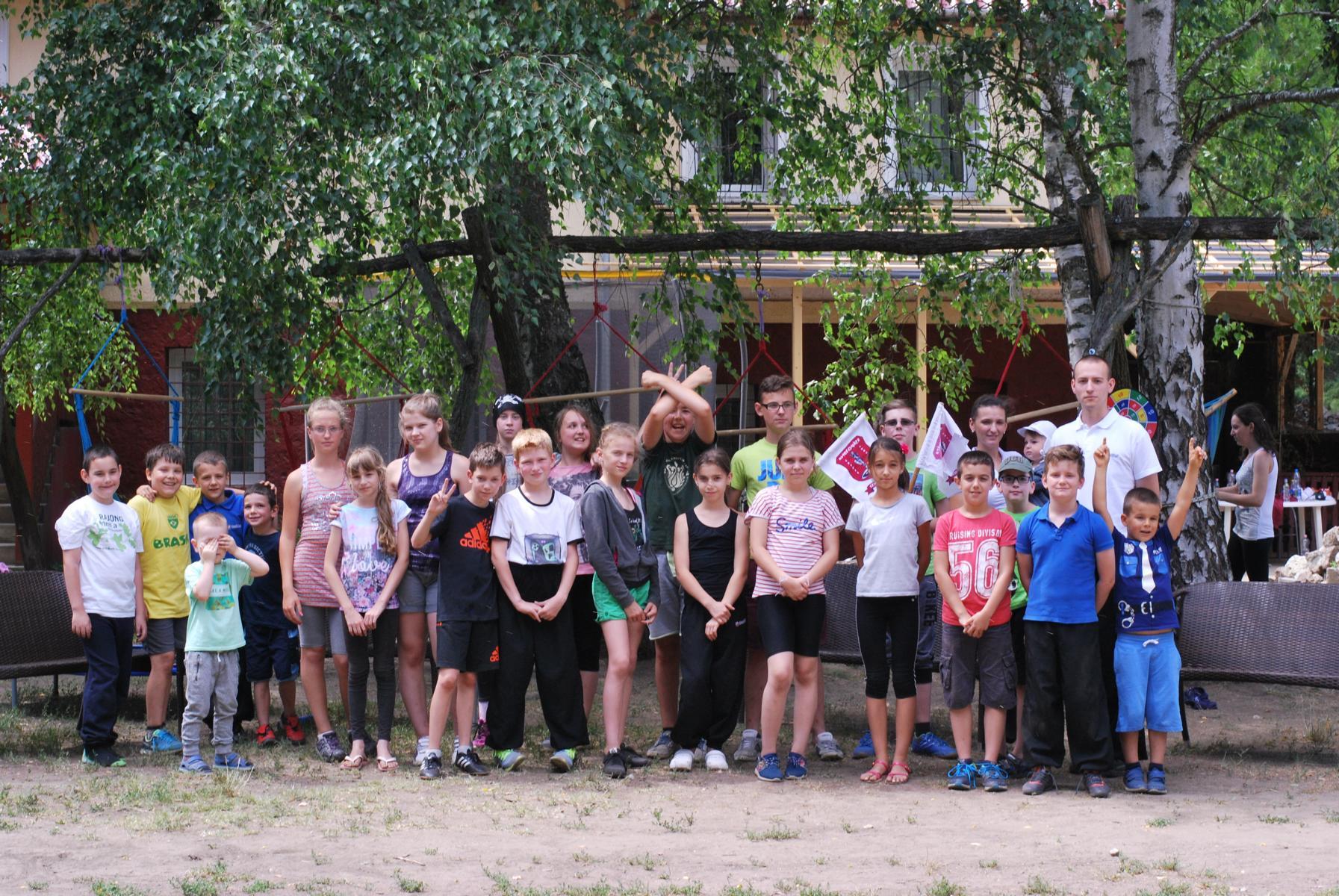 Gyerek MediBall Tábor 2016
