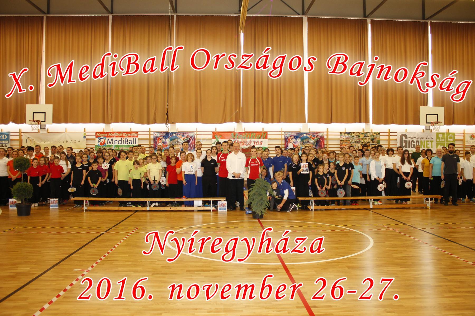 X. MediBall Országos Bajnokság 2016